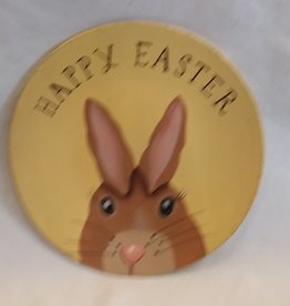 Happy Easter Bunny Decorative Plate, 8""