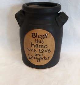 Bless This Home w/Love & Laughter Jar, 7""