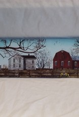 "Spring Morning Canvas, 18""x6"" By Billy Jacobs"