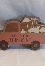 "Let's Go Junkin, Chunky Sitter, 7""x4"""