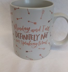 Monday & I Coffee Mug