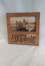 """Happy Campers Picture Frame, 6""""x6"""""""