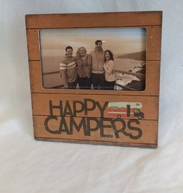 "Happy Campers Picture Frame, 6""x6"""