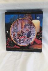 """A Harley Christmas Carol"" Collector's Plate, 8.5"", 2000"