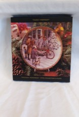 """Family Portrait"" Harley Davidson Collectible Plate, 8.5"", 1998"