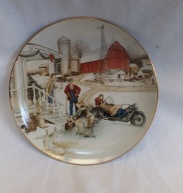 """Christmas Vacation"" Collectible Plate, 8.5"", 1993"