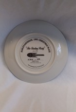 """""""The Skating Party"""" Collectible Plate, 8.5"""", 1991"""