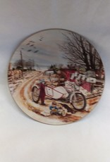 """Rural Delivery"" Collectible Plate, 8.5"", 1990"