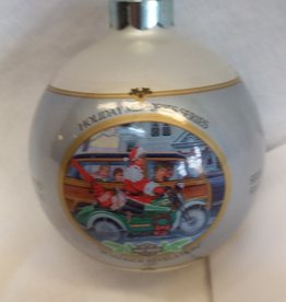 """Roadside Revelation"" Harley Davidson Christmas Ornament, 1997"