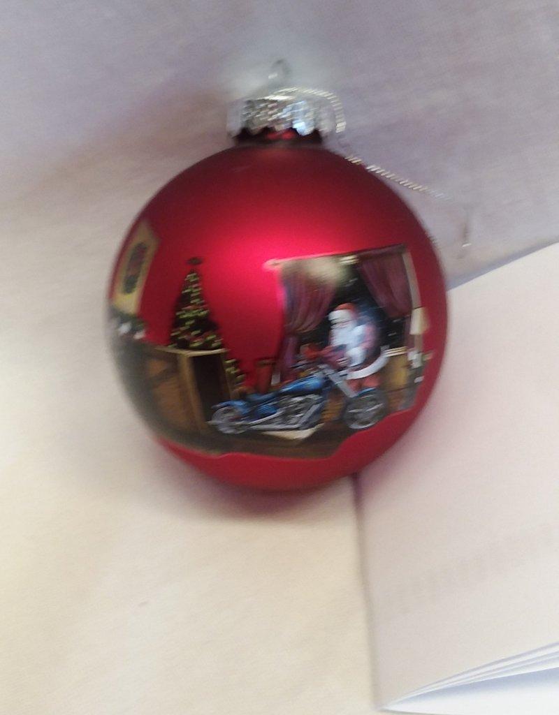 Harley Davidson Christmas Ornament, 2009