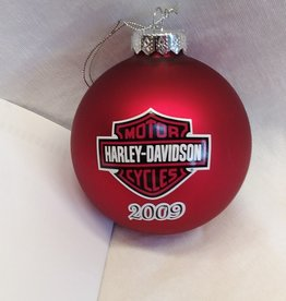 Harley Davidson Christmas Ornament, 2009