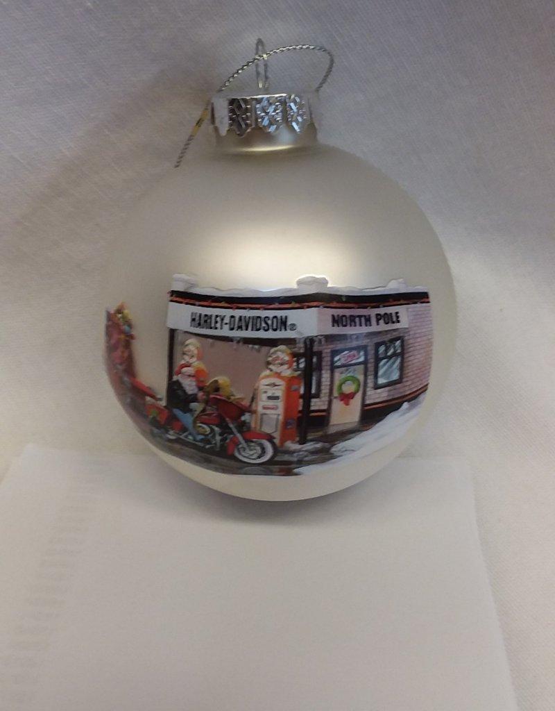 Harley Davidson Christmas Ornament, 2008
