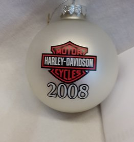Harley Davidson Christmas Ornament, 2008