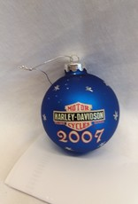 Harley Davidson Christmas Ornament, 2007