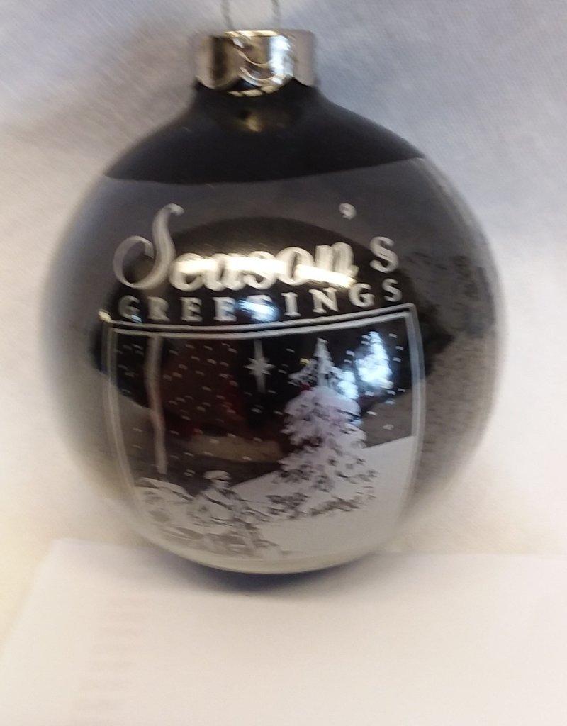 Harley Davidson Christmas Ornament, 2001