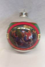 """""""Bringing Home The Tree"""" Christmas Ornament, 2001"""