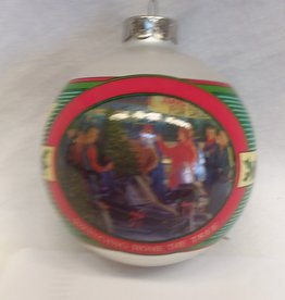 """Bringing Home The Tree"" Christmas Ornament, 2001"