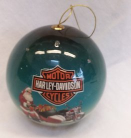 Harley Davidson LED Christmas Ornament, 2011