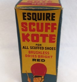 "Scuff Kote Shoe Polish, Original Box, 5"", 1950's"