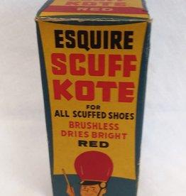 """Scuff Kote Shoe Polish, Original Box, 5"""", 1950's"""