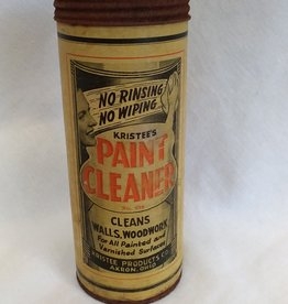 Kristee's Paint Cleaner, 5.5, 1930's