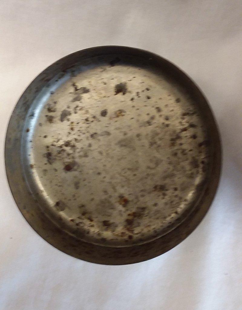 Galvanized Cream Can, 12 Quart, C.1930