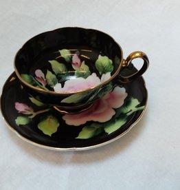 Pink Rose Cup & Saucer Set