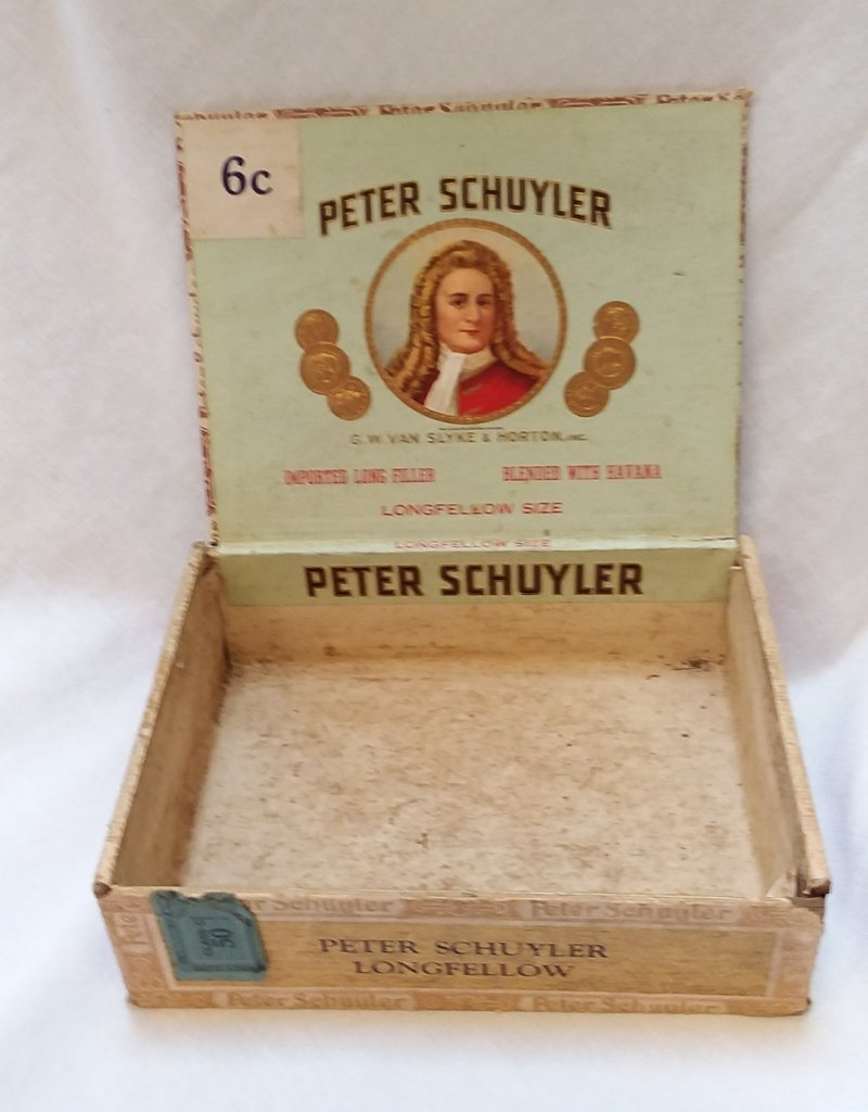 Peter Schuyler Longfellow Cigar Box, c.1940