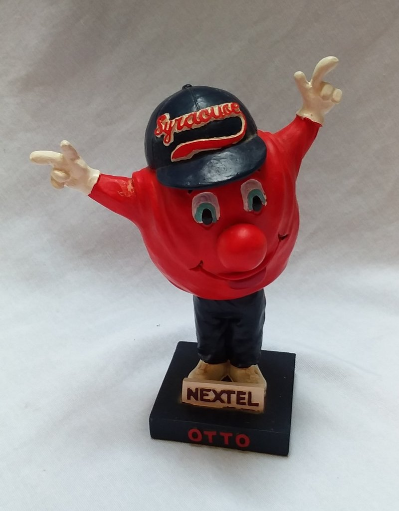 "Syracuse Univ Bobblehead ""Otto"" 1995, Nextel Co. Limited Promotion 7"""