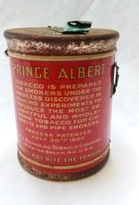"Prince Albert Round Tobacco Tin, 5""x6.5"", E.1920's"