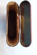 Velvet Pipe & Cigarette Tobacco Tin, 3/4 Full