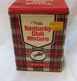 Kentucky Club Mixture Tobacco Tin, 14 oz,