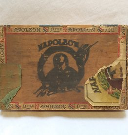 Little Napoleon Wooden Cigar Box