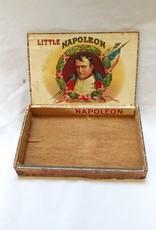 Little Napoleon Wooden Cigar Box