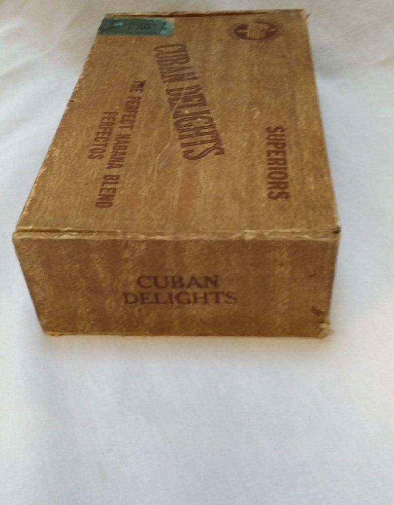 Cuban Delights Cigar Box