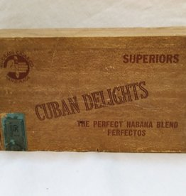 Cuban Delights Cigar Box