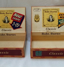 Robert Burns Classic Cigar Box, c.1960