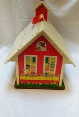 Vintage Fisher Price Schoolhouse # 923, 1971