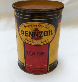 Pennzoil Water Pump Grease Can (Partially Full) 1950's-60's