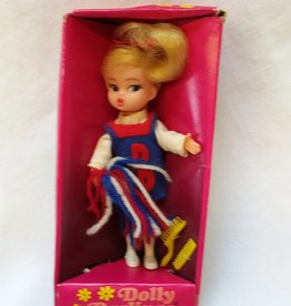 "Dolly Darlings ""Go Team Go"" Cheerleader Doll. #8511, 1968"