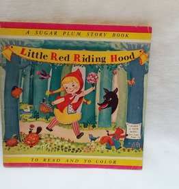 Little Red Riding Hood (To Read & Color), 1952