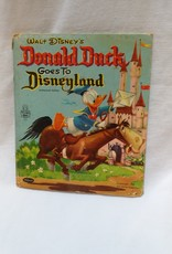 Donald Duck Goes to Disneyland Book, 1955
