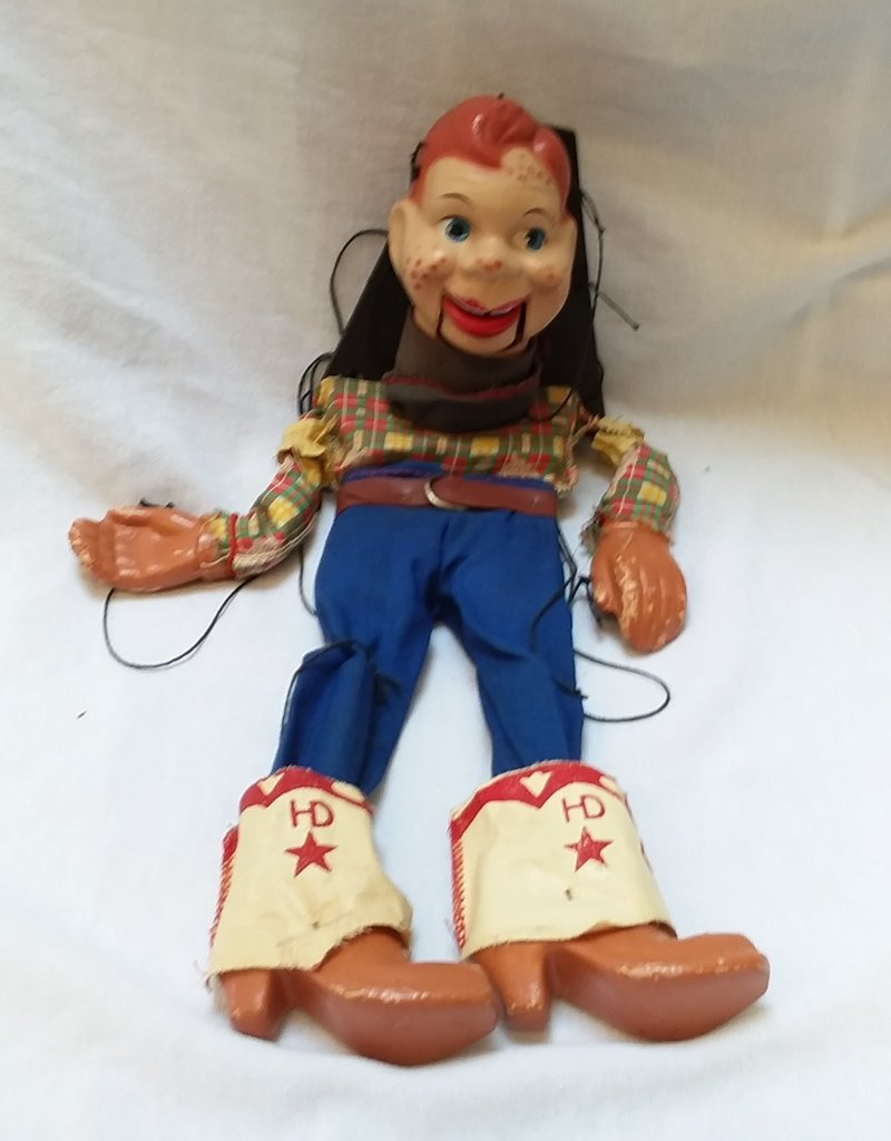 """Howdy Doodie Marionette, 15"""", 1950's"""