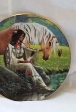 """""""Prairie Flower"""" Plate, 8.25"""", 1992"""