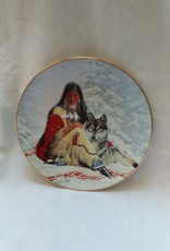 """Snow Princess"" Collectible Plate, 8.25"", 1993"