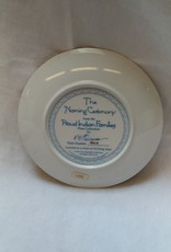 """""""The Naming Ceremony"""" Collectible Plate, 8.25"""", 1991"""
