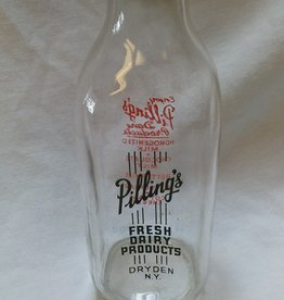 Pilling's Dairy Milk Bottle, Quart, c.1960