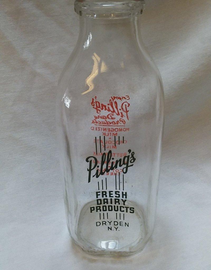 Pilling's Dairy Milk Bottle, Quart, c.1960