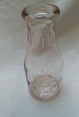 Miller's Dairy Embossed Milk Bottle, 1 Pint, c.1950