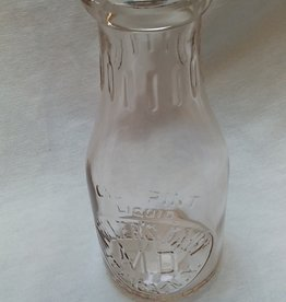 Miller's Dairy Embossed Milk Bottle, 1 Pint, c.1950